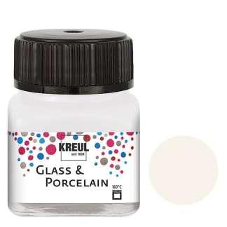 Краска по фарфору и керамике на водной основе KR-16230 Белая 20 мл Hobby Line C.KREUL