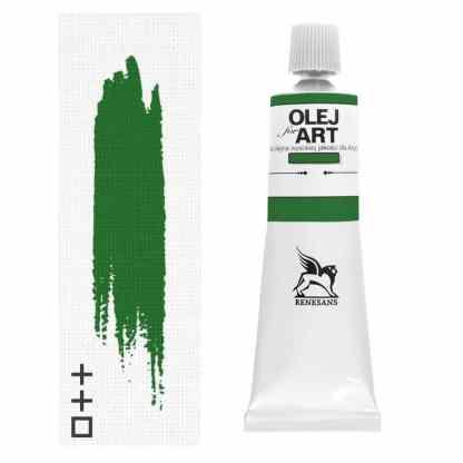 Масляная краска 70 Лак зеленый светлый 60 мл Renesans Польша
