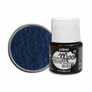 Краска лаковая Fantasy Moon 038 Металлик голубой 45 мл Pebeo
