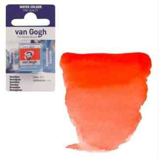 Акварельная краска Van Gogh 311 Киноварь 2,5 мл кювета Royal Talens