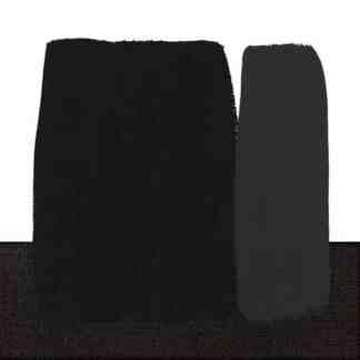 Акриловая краска Polycolor 140 мл 530 черный Maimeri Италия