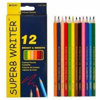 4100-12CB Карандаши цветные 12 цветов «Superb Writer» Marco