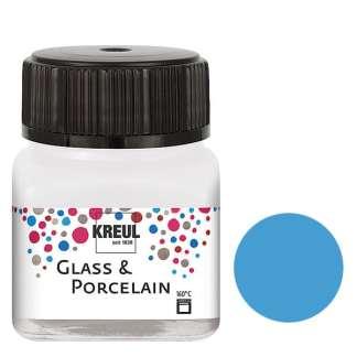 Краска по фарфору и керамике на водной основе KR-16219 Светло-голубая 20 мл Hobby Line C.KREUL