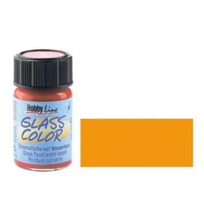 Краска для стекла Glass Color 42405 Оранжевая 20 мл Hobby Line C.KREUL