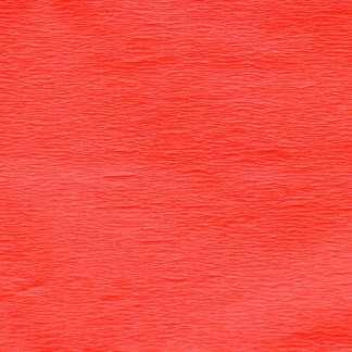 Бумага гофрированная 705396 Темно-оранжевая флуоресцентная 20% 26,4 г/м.кв. 50х200 см (Т)