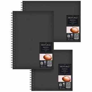 41232129 Альбом для эскизов Drawing Book А4 (21х29,7 см) 160 г/м.кв. 60 листов в твердом переплете на спирали по длинной стороне Fabriano Италия