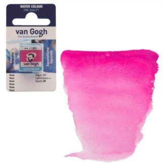 Акварельная краска Van Gogh 357 Розовый 2,5 мл кювета Royal Talens