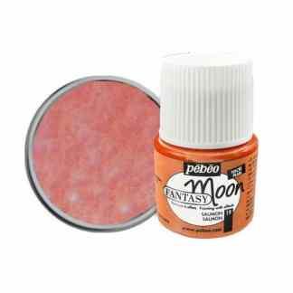 Краска лаковая Fantasy Moon 019 Розовый светлый 45 мл Pebeo