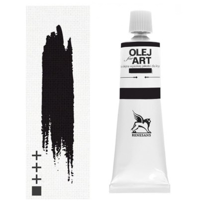Масляная краска 50 Винный черный 60 мл Renesans Польша