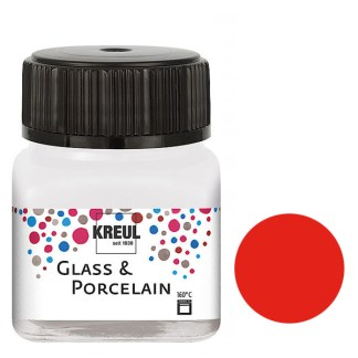 Краска по фарфору и керамике на водной основе KR-16205 Вишневая 20 мл Hobby Line C.KREUL