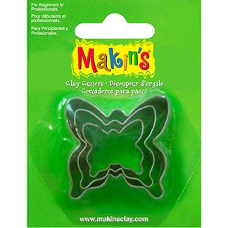 Набор каттеров «Бабочка» 3 штуки Makin's