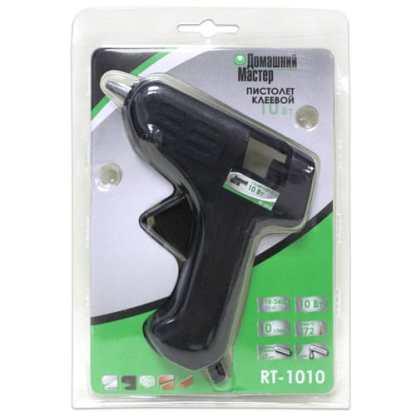 Клеевой пистолет «Домашний Мастер» RT-1010 10 Вт Ø7-8 мм