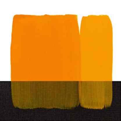 Акриловая краска Acrilico 500 мл 114 желтый темный стойкий Maimeri Италия