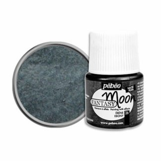 Краска лаковая Fantasy Moon 026 Черный 45 мл Pebeo
