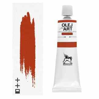 Масляная краска 17 Циннобер темный 60 мл Renesans Польша