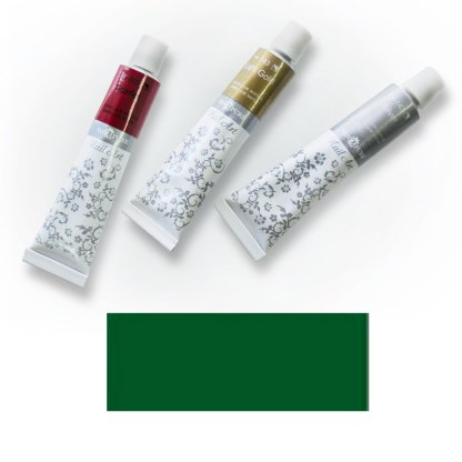 Акриловая краска Nail Art 12 мл 063 зеленая средняя Van Pure