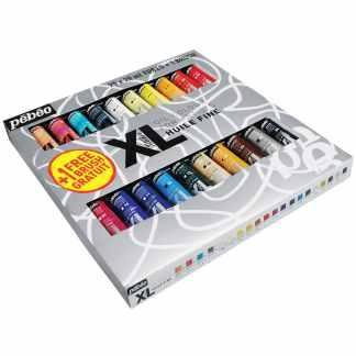 Набор масляных красок XL 20 цветов по 20 мл (с кистью) картонная коробка Pebeo