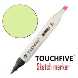 Маркер двусторонний 123 Fluo Yellow TouchFive