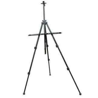 15182 Мольберт-тренога алюминиевый черный высота 157 см, высота полотна 80.5 см D.K.ART & CRAFT