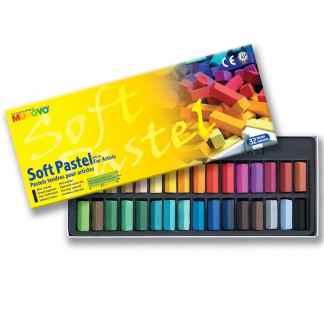 Набор сухой мягкой пастели 32 цвета 1/2 квадратная MPS-32 Mungyo