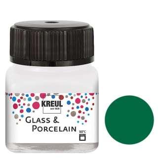 Краска по фарфору и керамике на водной основе KR-16224 Изумрудная 20 мл Hobby Line C.KREUL
