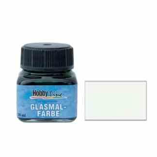 Краска для стекла лаковая прозрачная 45207 Белая 20 мл Hobby Line C.KREUL