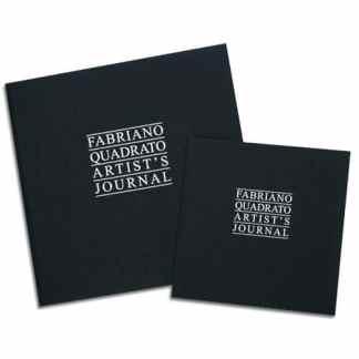 48441616 Альбом для эскизов и сухих техник Artist's Journal 16х16 см 90 г/м.кв. 96 листов Fabriano Италия