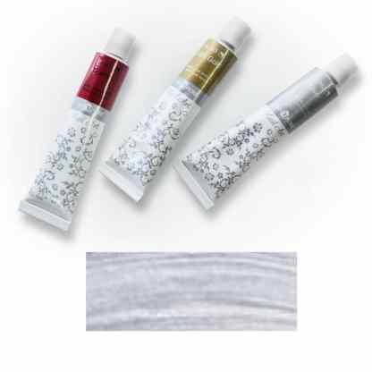 Акриловая краска Nail Art 12 мл 142 серебро Van Pure