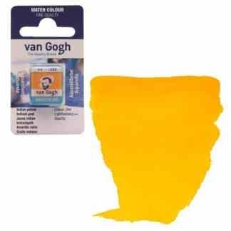 Акварельная краска Van Gogh 244 Индийская желтая 2,5 мл кювета Royal Talens