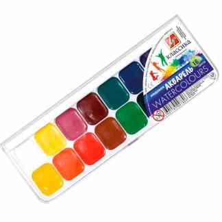 Набор акварельных красок «Классика» 16 цветов Луч