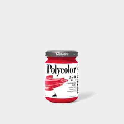 Акриловая краска Polycolor 140 мл 280 киноварь (имитация) Maimeri Италия