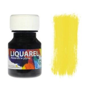 Акварельная краска жидкая Liquarel 110 Желтый светлый 30 мл Renesans Польша