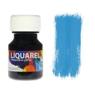Акварельная краска жидкая Liquarel 120 Синий циан 30 мл Renesans Польша