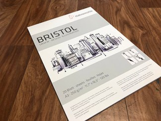 Smooth Bristol Paper pad