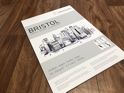 Smooth Bristol Paper pad