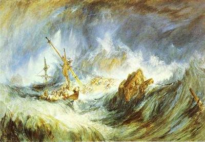 William Turner- the Shipwreck