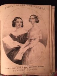 Music cover with Jenny Lind