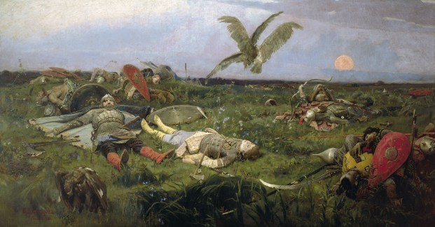 Viktor Vasnetzov, After the battle of Prince Igor with Polovetz nomads