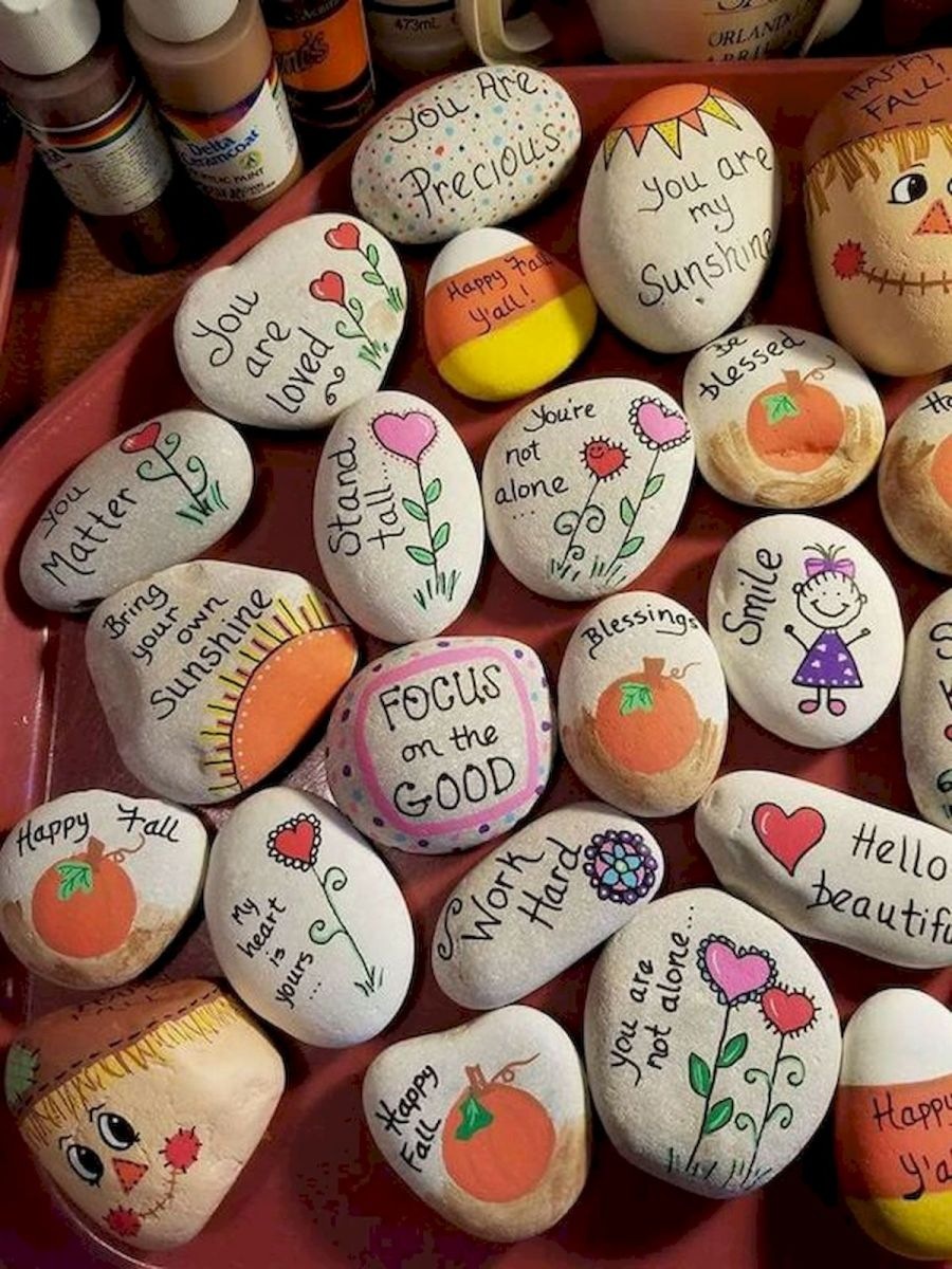 60 Fantastic Rock Painting Ideas For Kids (39)