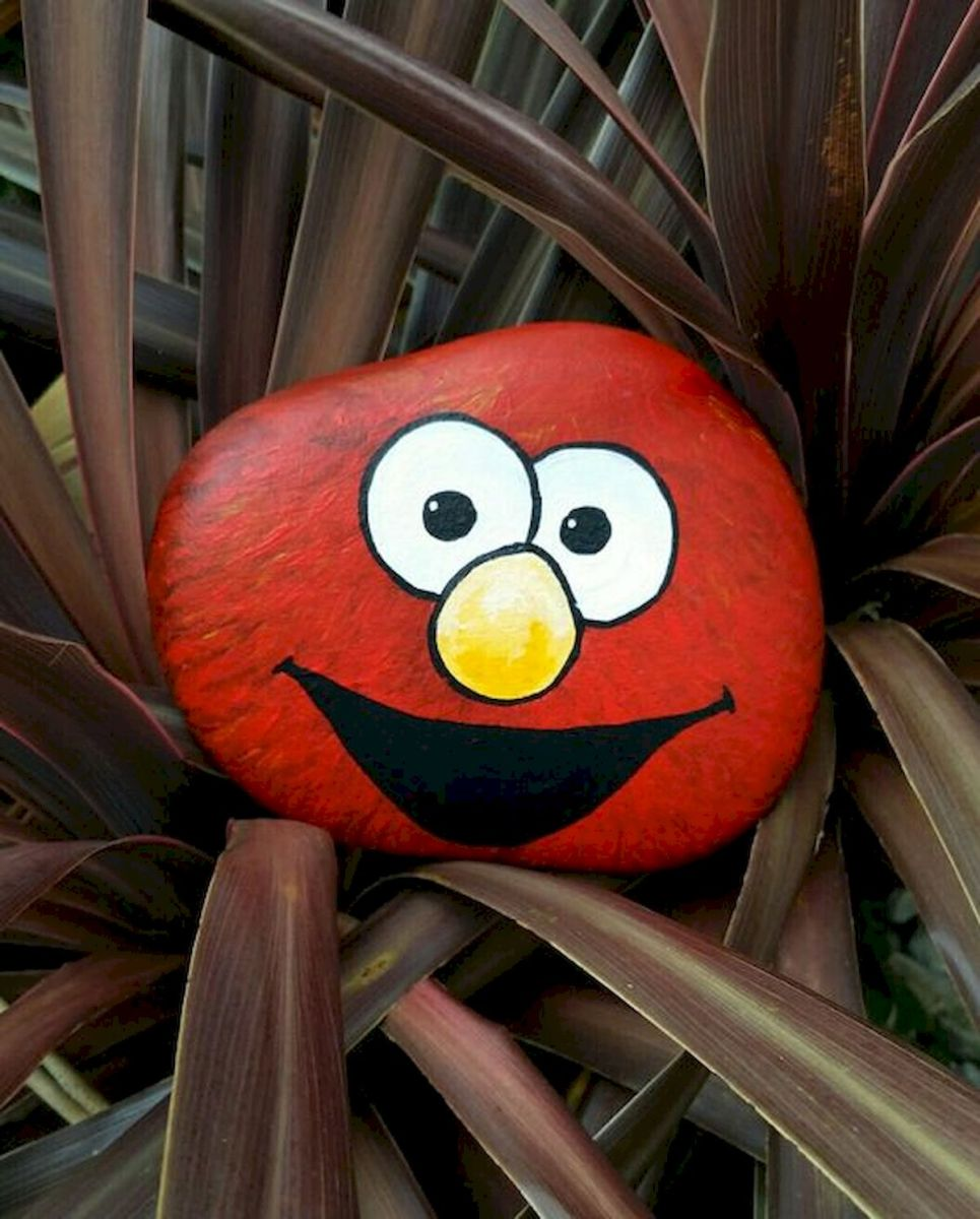 60 Fantastic Rock Painting Ideas For Kids (54)