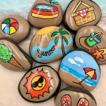 60 Fantastic Rock Painting Ideas For Kids (57)