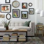60 Living Room Decor Ideas With Artwork Coffee Tables (4)