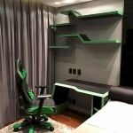 45 Awesome Computer Gaming Room Decor Ideas and Design (23)