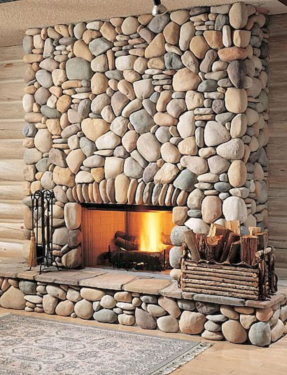 45 Awesome DIY River Rock Ideas Decorations (31)