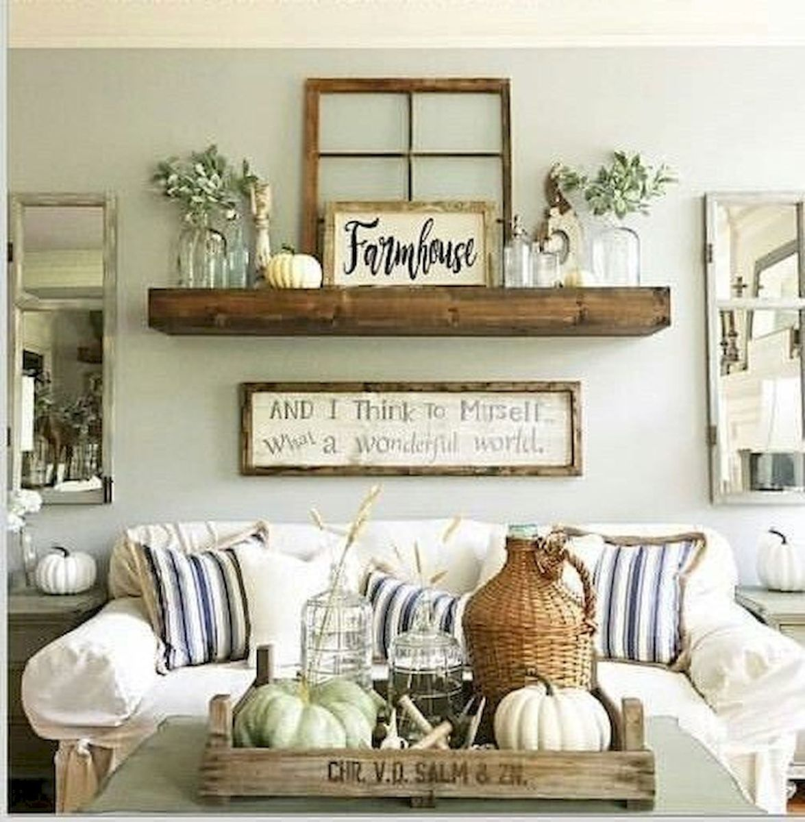 27 Best Rustic Wall Decor Ideas (27) - artmyideas
