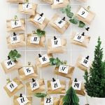 50 Favorite DIY Christmas Advent Calendar Design Ideas (34)