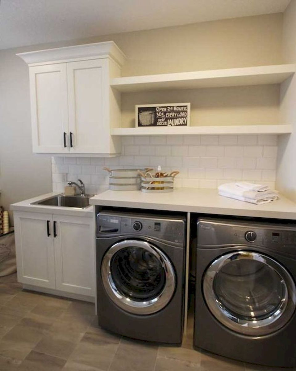 57 Fantastic Laundry Room Design Ideas and Decorations (15)