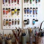 58 Fantastic Art Studio Organization Ideas and Decor (10)