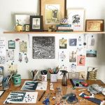 58 Fantastic Art Studio Organization Ideas and Decor (2)