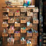 58 Fantastic Art Studio Organization Ideas and Decor (26)